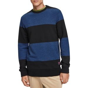 NEW Scotch & Soda Melange Cotton Crewneck Sweater